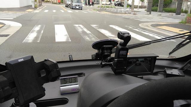 osmopocketでドライブレコーダー