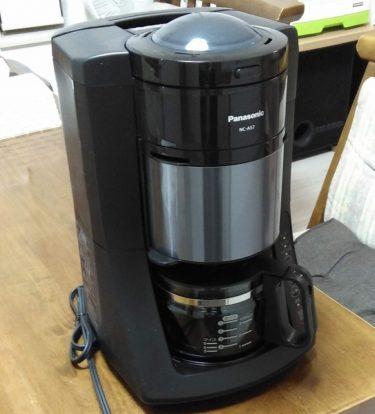 パナソニックコーヒーメーカーNC-A57で朝のひと時を楽しく